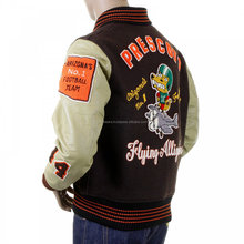 Customized Varsity Jackets/ Wool Body and Genuine Cow Hide Leather Sleeves Jackets / NWSJ-421/AT NOKI