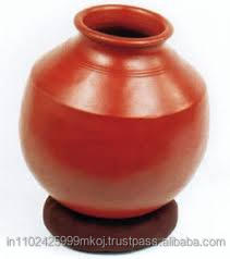 Clay pot with lead