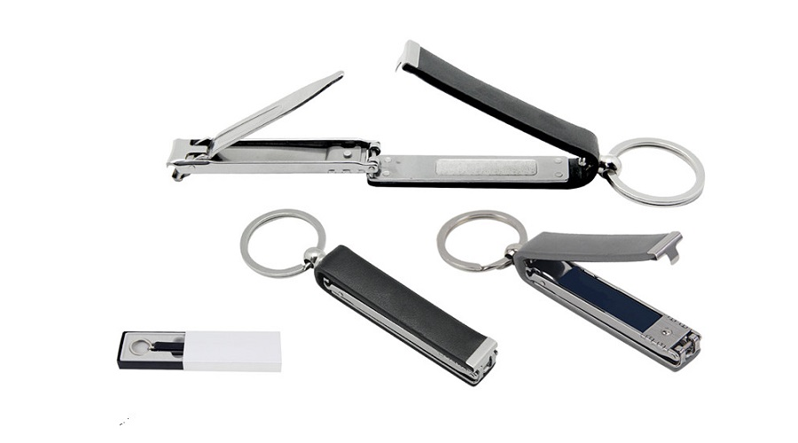 J1112 Nail Clipper with Key Holder with personalised logo printing