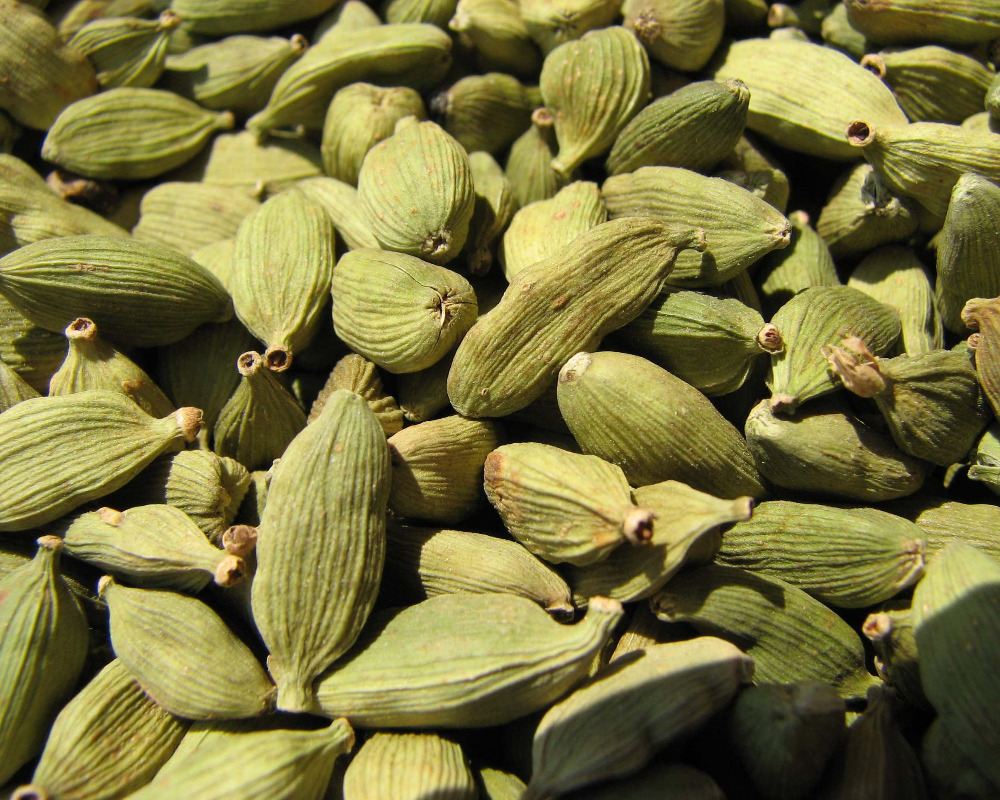 Cumin Seeds, Fennel Seeds, Grains, Nuts, Kernels Green Cardamom, herbs, spice, condiments