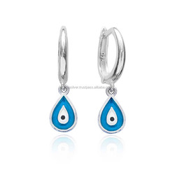 For Women Enamel Clip On Earrings Wholesale 925 Sterling Silver Jewelry