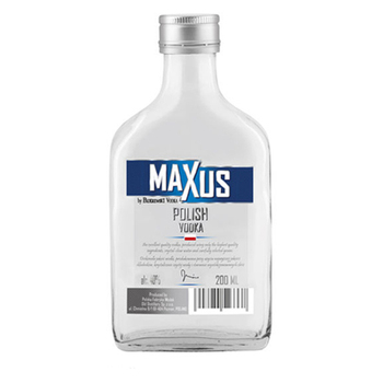 Health and Sanitary Certified Maxus Vodka Glass Bottle