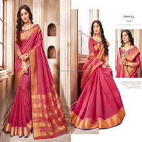Khadi Silk indian daily wear sarees wholesale in surat online
