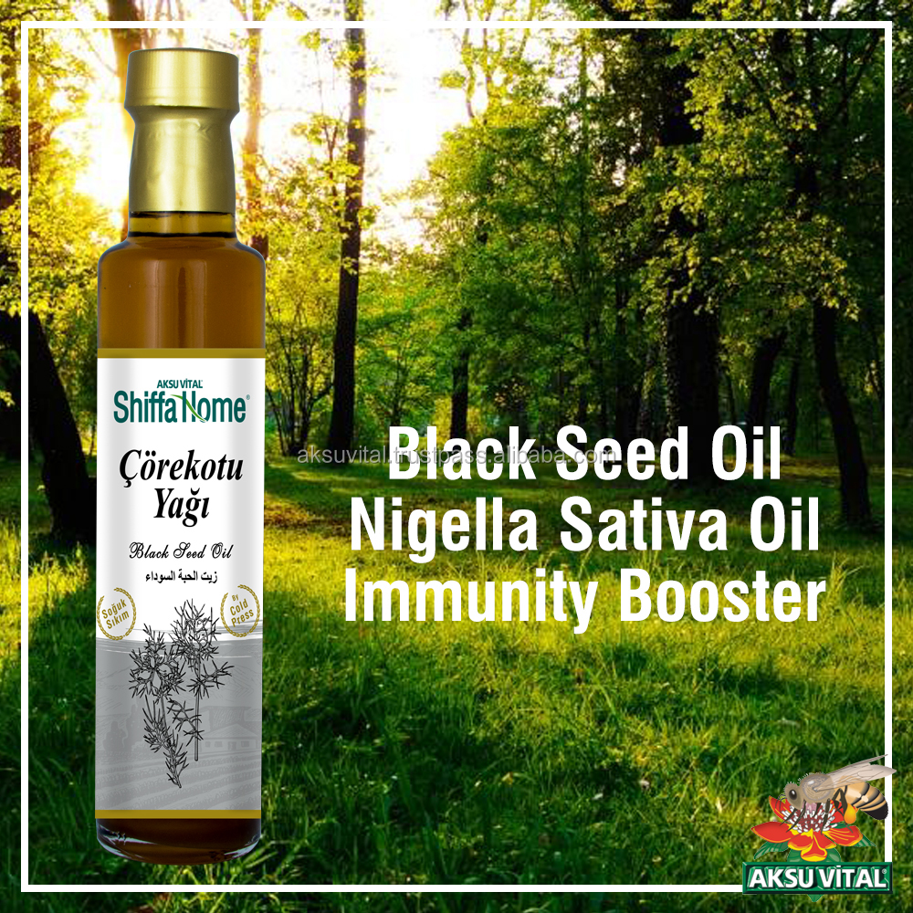 Black Cumin Seed Oil 250 ml Pure 100% Natural Blackseeds Oil Black Seed Nigella Sativa Kalonji Euro Prices Aceite de Nigella ...