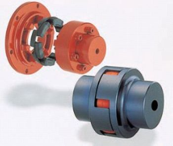 High quality rubber and polyurethane Mitsuboshi Hyper Flex coupling MT type with large torque. Made in Japan