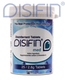 Disifin Med Surface Disinfectant Tablets Tub/25