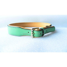 Wholesale Dog Leather collars luxury braided Pet Products