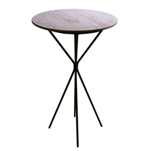 Elrene Modern Design Wood Round Coffee Table
