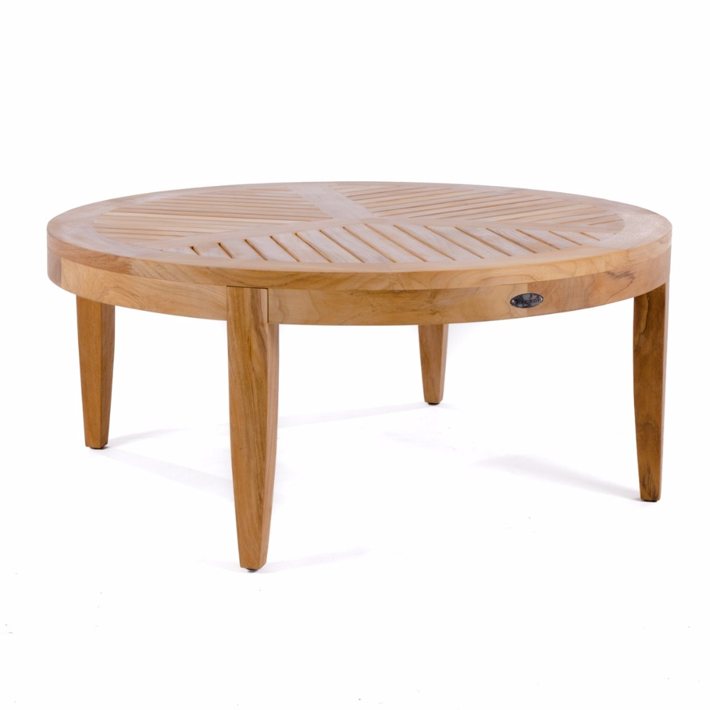 OUTDOOR FURNITURE COLLECTION TEAK COFFEE TABLE FOR OUTDOOR