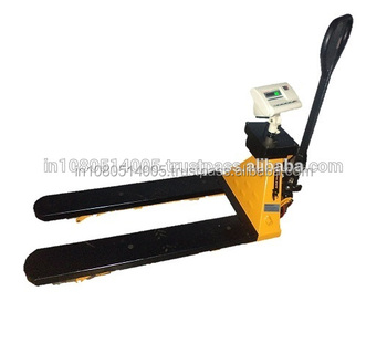 Comfortable Hand Pallet Truck Digital Scale 2Ton