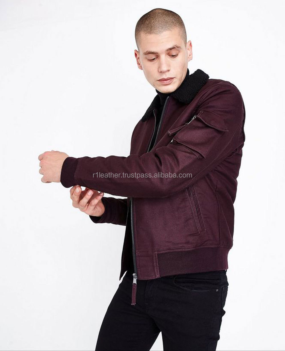 Men 100% Polyester Satin Bomber Jacket, Wholesale Embroidery Souvenir