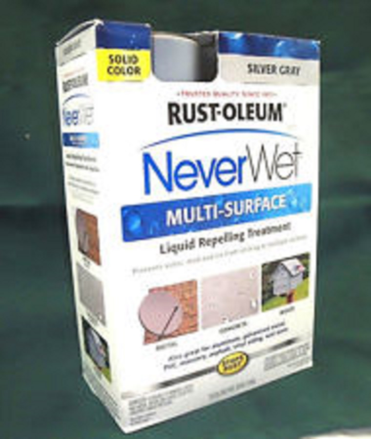 RUST - OLEUM NeverWet Multi - Surface - 275619 - Kit, Silver Gray