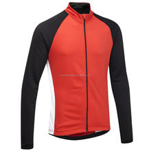 Attractive Bright Colored Red Cycling Jersey
