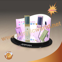 Retail Cell Phone Accessory Case Anti-Theft Acrylic Display Table Stand