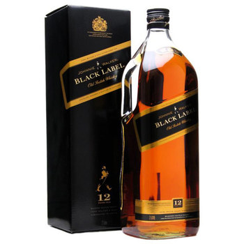 Johnnie Walker Black Label Blended Scotch Whiskey 1.75l