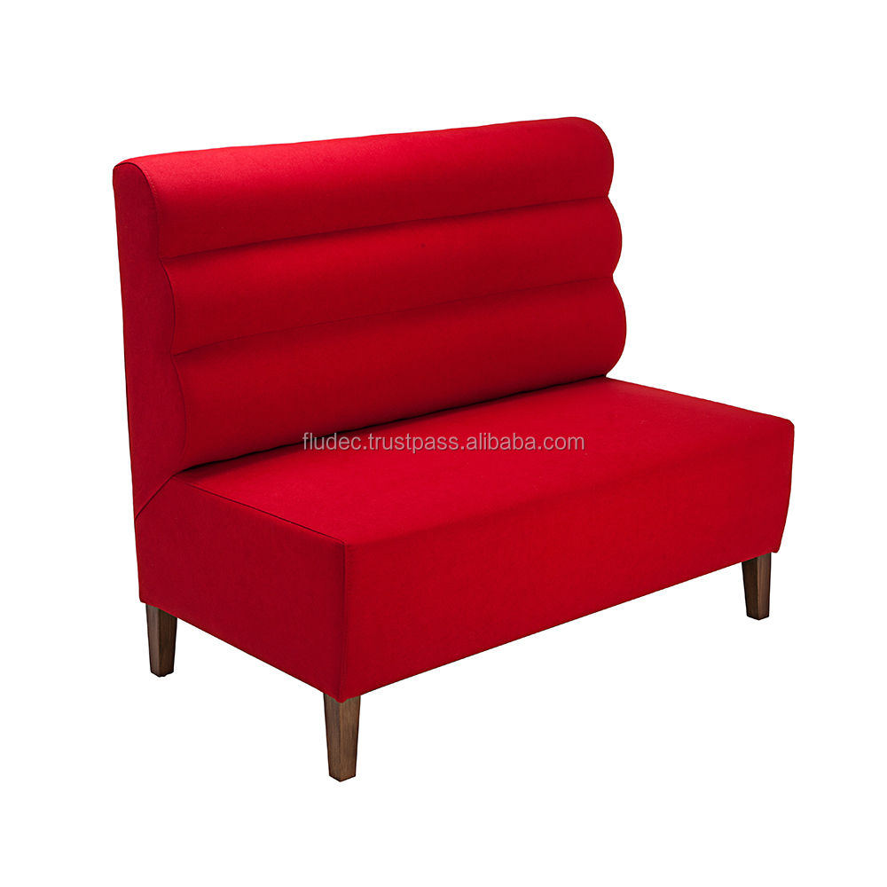 FASTFOOD SEATING AND BENCHES GROUPS | From Turkish Manufacturer | Leather and Fabric Optional |