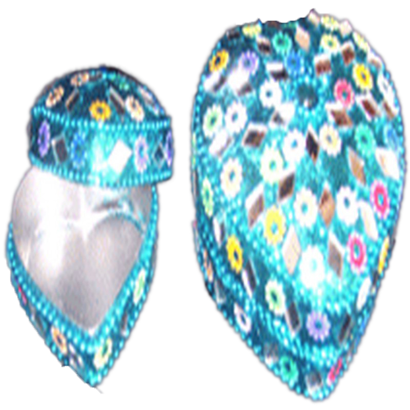 HEART SHAPE LAC BOXES/pill boxes