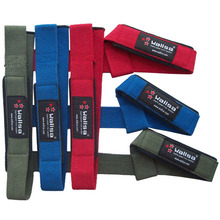 WEIGHT LIFTING STRAPS / NEOPRENE-PADDED Wrist Grip