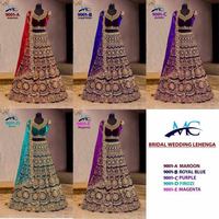 Exclusive Latest Fashion Heavy Designer Indian Wedding Wear Women Ghagra Choli Manufacturer Bridal Lehenga Choli
