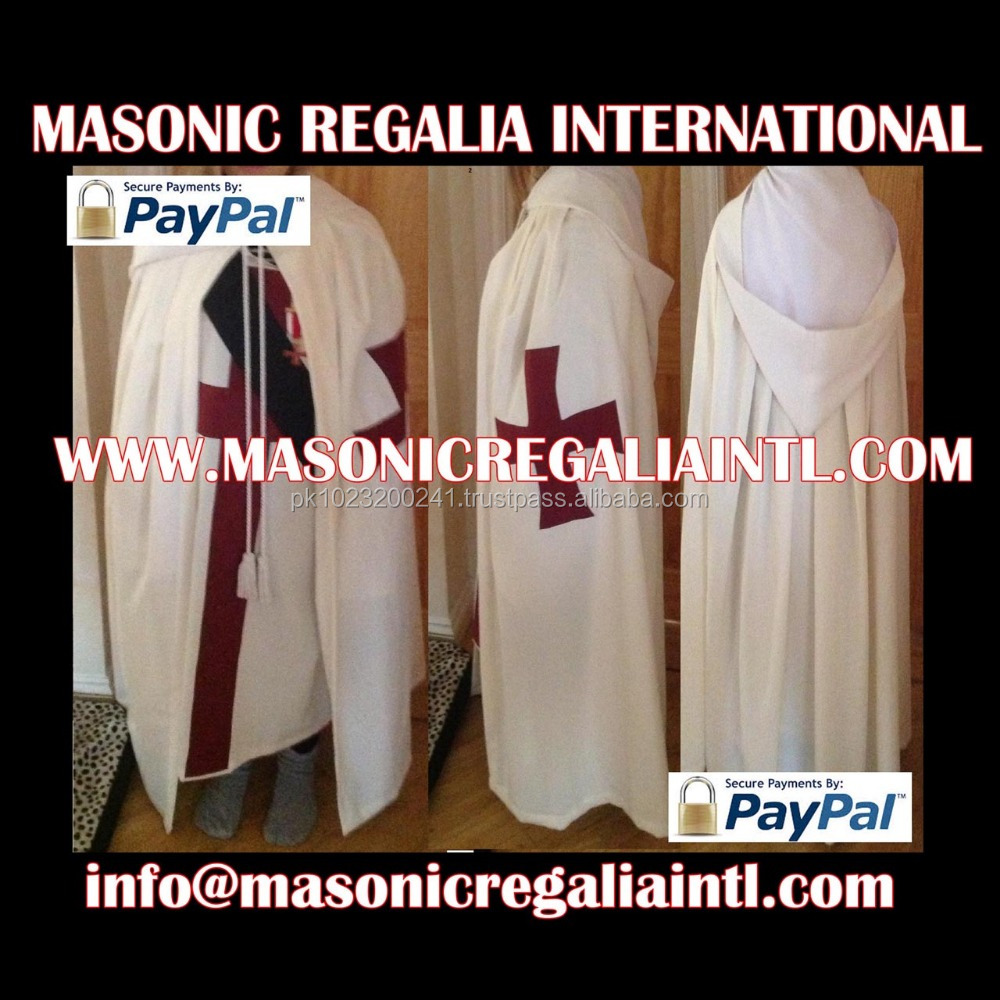 Masonic Knight Templar Gown