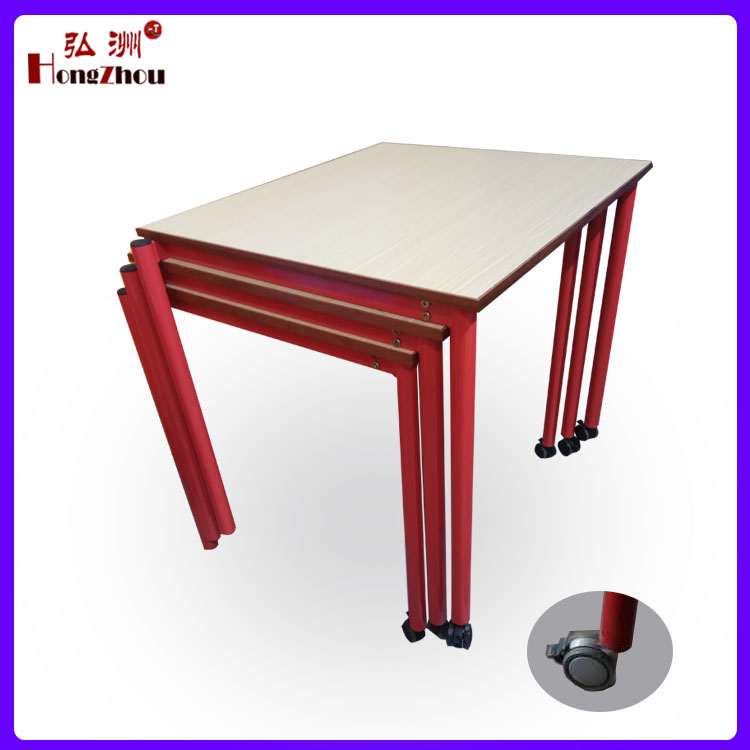 School Desk Library Reading Table and Chair Training Room Furniture
