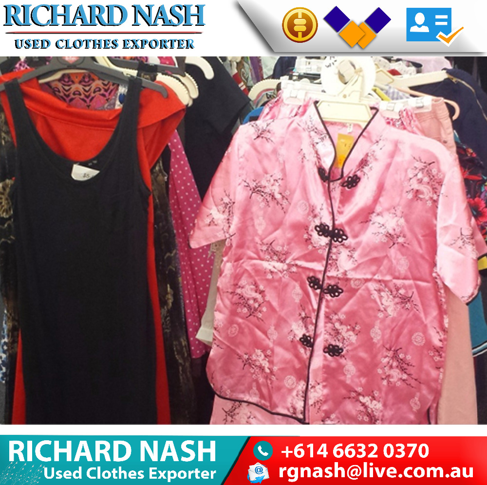 Unsorted high quality used clothes from Australian homes lowest price used branded clothes and used work clothing