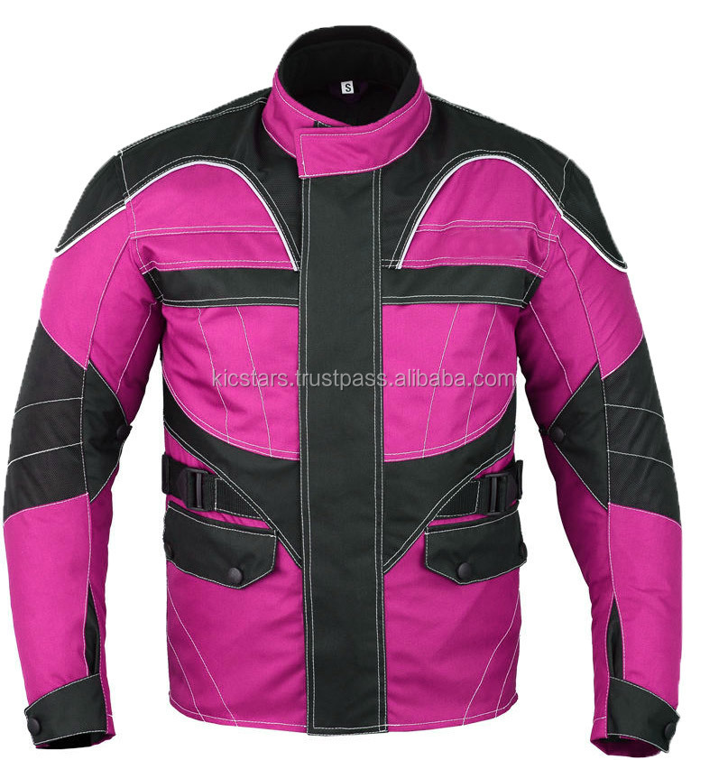 Long Motorcycle Textile jacket