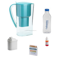 Alkaline Water Pitcher with filter, alkaline water ionizer with filter, BPA free. Made in spain