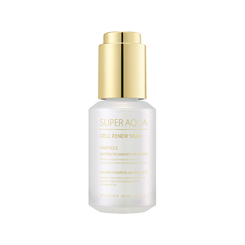 Missha Super Aqua Cell Renew Snail Ampoule / KOREA COSMETIC