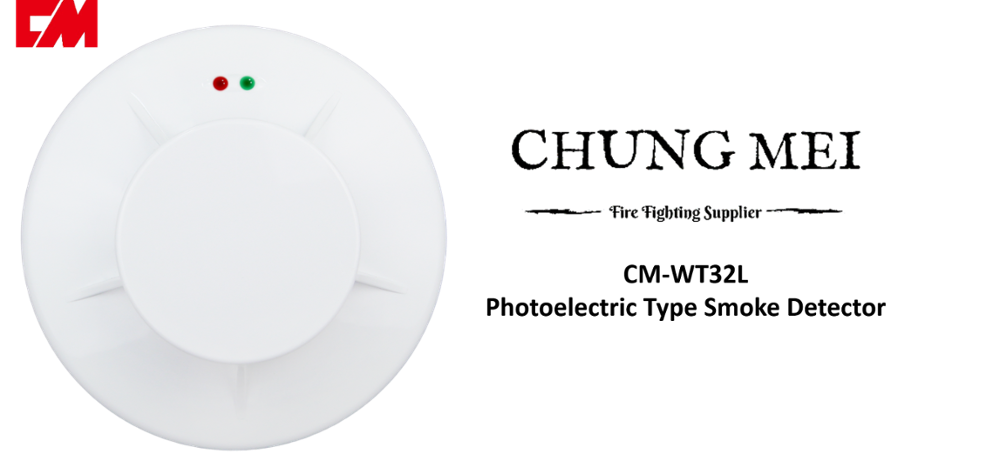 Optical Decorative Smoke Alarm Detector