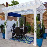 GFRP PERGOLA FOR GARDEN DECORATION