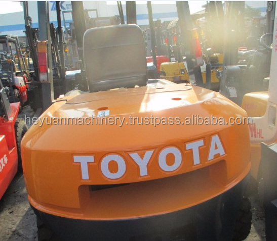 Competitive price used forklift FD50 TOYOTA diesel fork truck for sale
