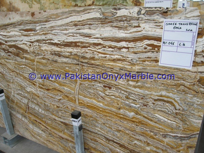 MANUFACTURER AND EXPORTERS TRAVERTINE ONYX SLABS CROSS VEIN CUT SLABS COLLECTION