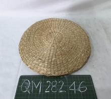 Hot home using seagrass cushion high quality handmade wicker decorative staff cheap price straw stool