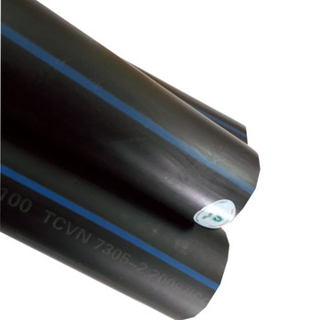 PN16 DN500 and PE100, PE80 45.4mm thickness HDPE Pipe