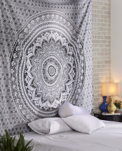 wholesale custom printed indian mandala tapestry