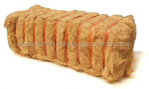 Coir fiber for supply-driven organic farming