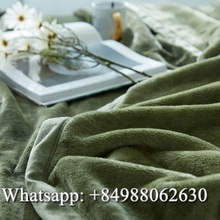 100% POLYESTER BEST CHOICE MINK/WOOL BLANKET