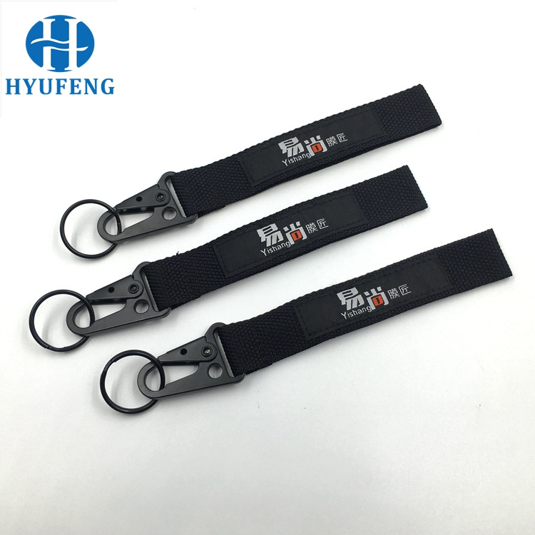 High Quality Custom Logo Short Keychain Lanyards With Bottle Opener