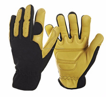 new customized anti vibration gloves shock resistant and anti impact mechanics working gloves