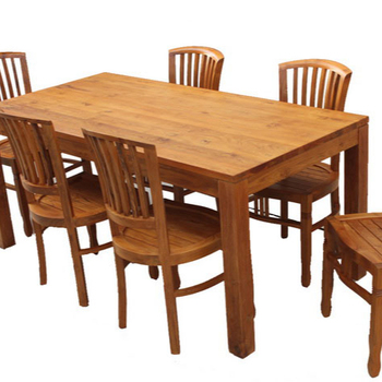 Best Indonesian Solid Teak Dining Table Set