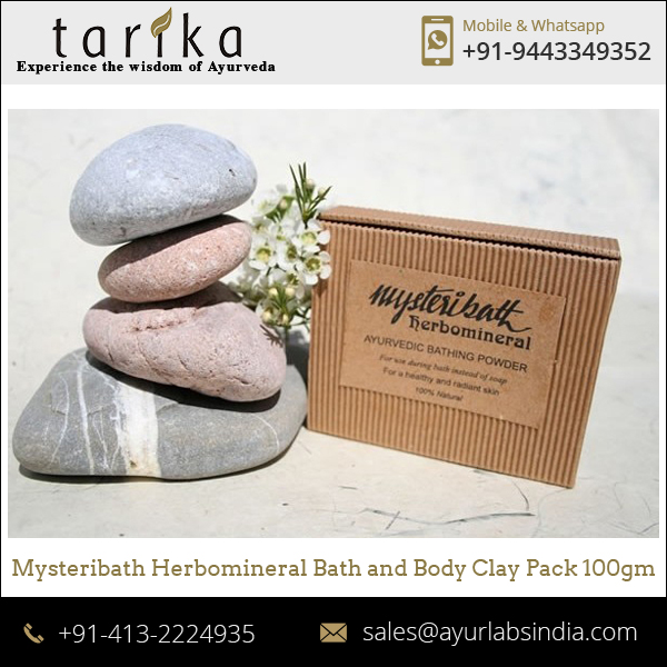High Quality Mystery Bath Herbomineral Bath and Body Clay/Ayurvedic Body Clay