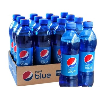 Pepsi Blue Soft Drinks 450ml, Wholesale Carbonated Drink, Pepsi Soft Drink