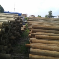 Wooden Poles For Power Lines 12