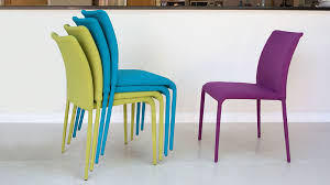 Poland Back Breathable Colorful Dining Stackable Plastic Chairs