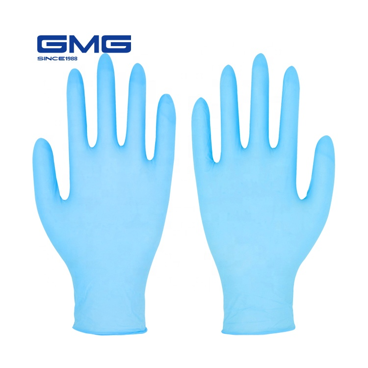 Best Seller Medical Powder Free Blue Disposable Nitrile Examination <strong>Gloves</strong>