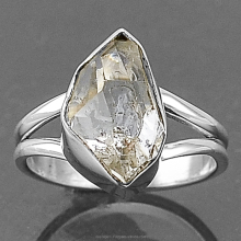 Herkimer Diamond Indian Sterling Silver Jewelry