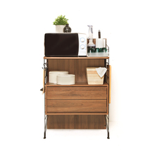 EZBO Kitchen Furniture RTA Cabinet With Drawer Wooden 4 feet
