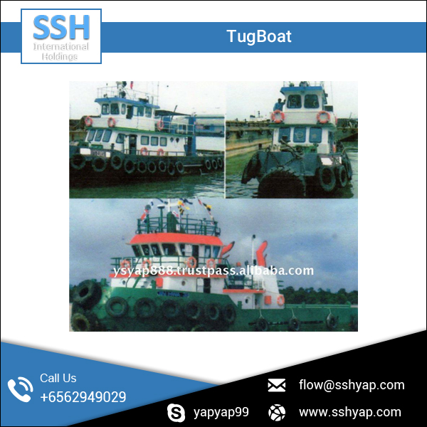 Low Maintenance Excellent Condition Shipyard Tugboat for Sale