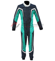 Stylish Best Quality Double Layer Go kart Racing Overall Suit